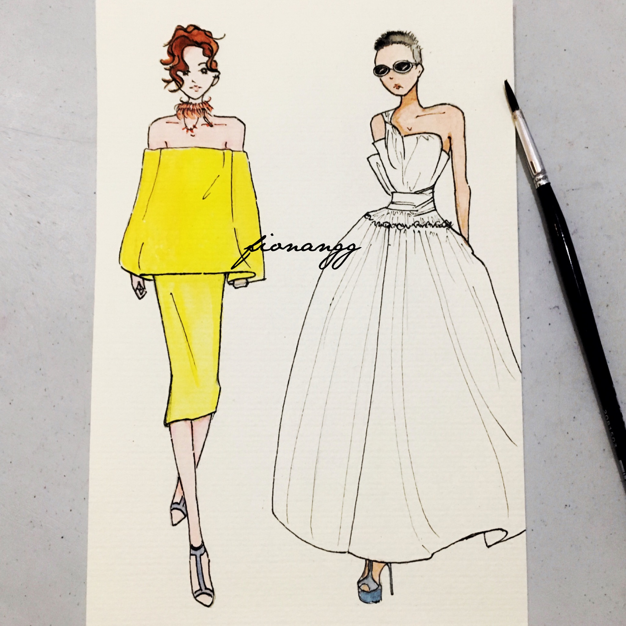 toni-maticevski-fashion-week-illustration