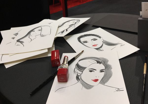 DIOR Rouge Ultra Rouge Launching Event at Grand Indonesia Atrium
